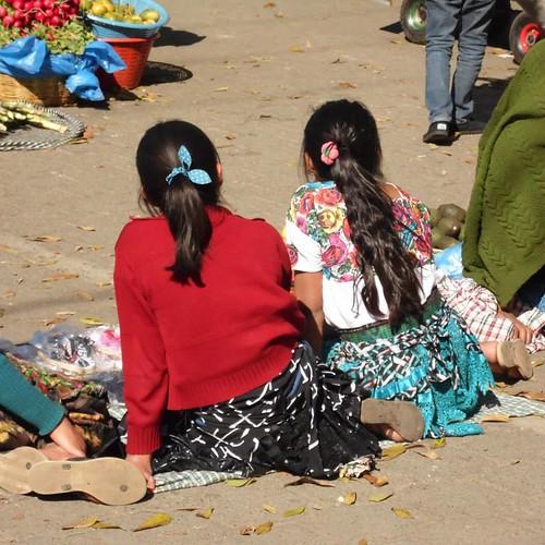 Mayan girls
