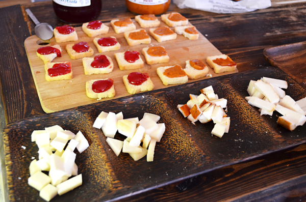 Four types of cheese, Fuerteventura, Canary Islands