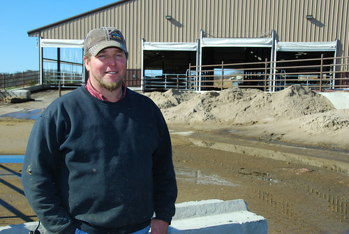 Dairy farmer Nelson Hostetler
