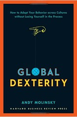 Global Dexterity book by Andy Molinsky