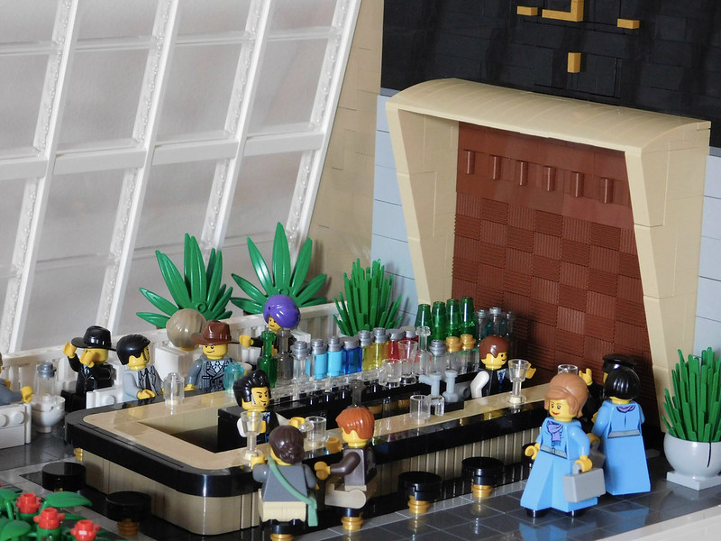Moc First Class Lounge Terminal 1 Idlebrick Airport Lego Town
