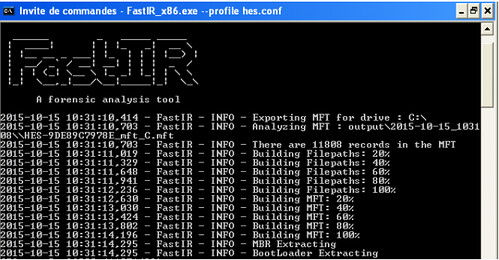 FastIR Collector - Windows Incident Response Tool