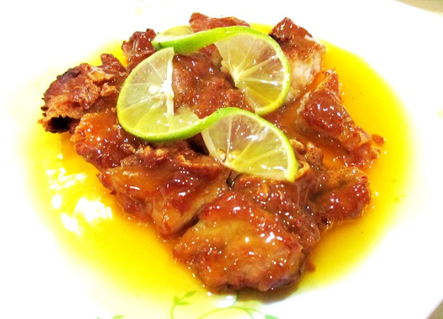 Y2K Restaurant lemon chicken 1