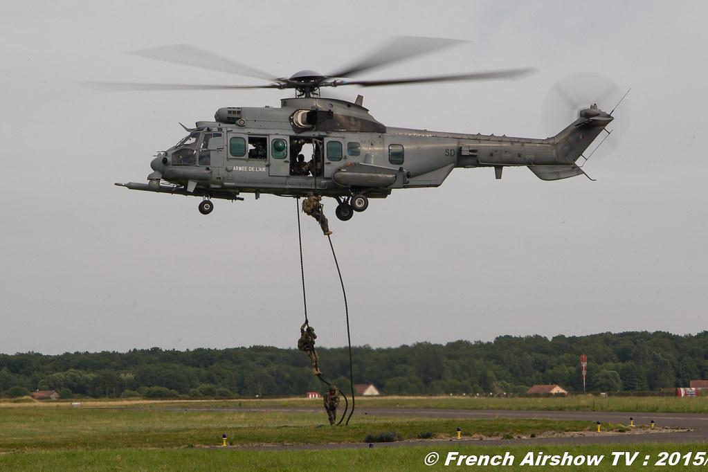 Eurocopter EC725 Caracal, EC 725 Caracal - Forces Spéciales françaises , BA-116 Luxeuil 2016 , Meeting de l'air luxeuil, Meeting Aerien 2015
