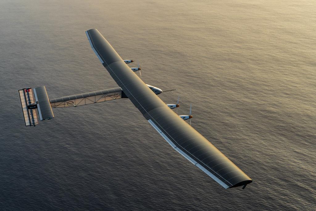 Solar Impulse 2 Undertakes A Maintenance Flight In Hawaii