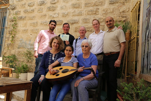 Pilgrimage People Group visit Tunes for Peace Students
