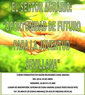 """AionSur 25630053963_81ea44a9ee_n_d Curso formativo """"El sector agrario: Oportunidad de futuro para la juventud sevillana"""" Formación y Empleo"""