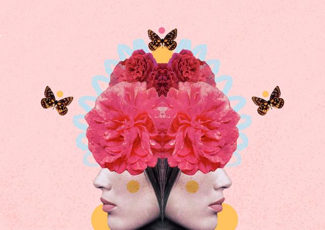 kalinda collage by laura redburn » cardboardcities - creative lifestyle blog