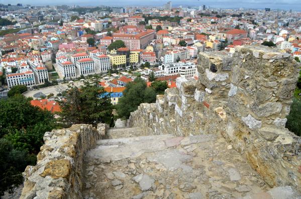Lisbon from Castillo San Jorge