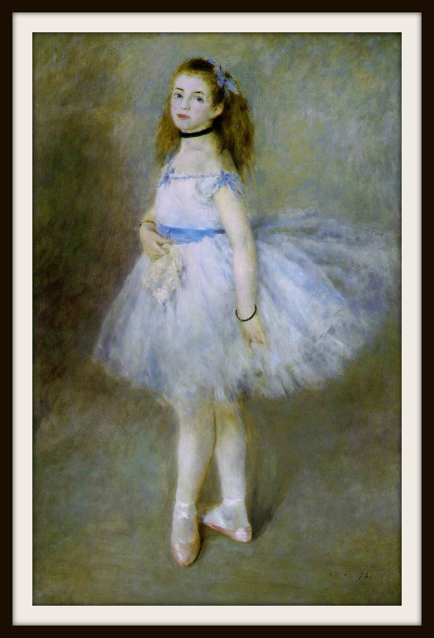 Dancer by Pierre-Auguste Renoir, 1974.