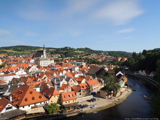 【ღ奧地利+捷克ღ】歐洲最美的玫瑰城堡.童話小鎮庫倫諾夫Český Krumlov