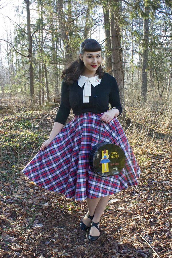 julie mollo retroversible circle skirt