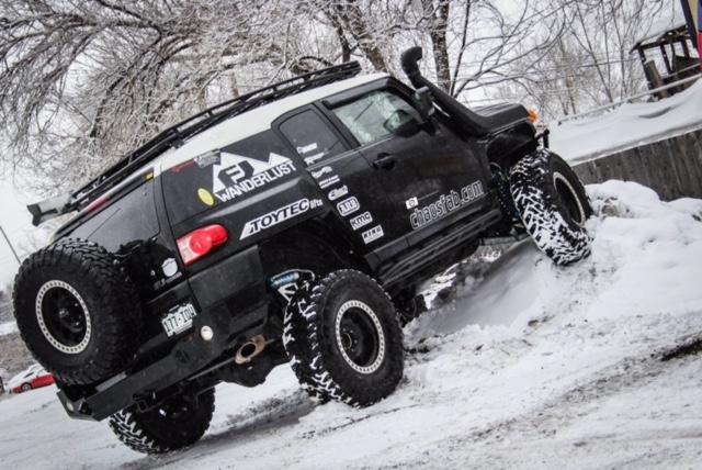 Toyota Terrain: SNOW