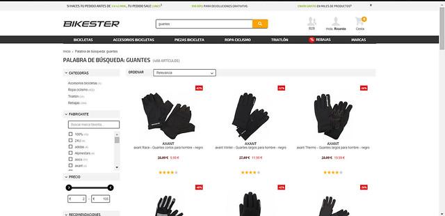 guantes ciclismo baratos
