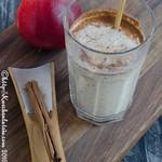 Apfel-Haferflocken-Smoothie
