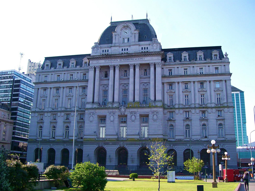 Central Post Office, Buenos Aires, Argentina (1909 - 1928). Image Credit Albano Azarian.