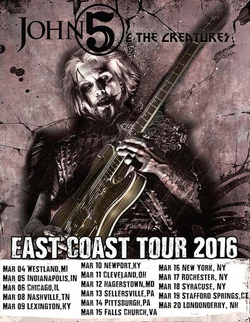 John 5 And The Creatures at the State Theatre