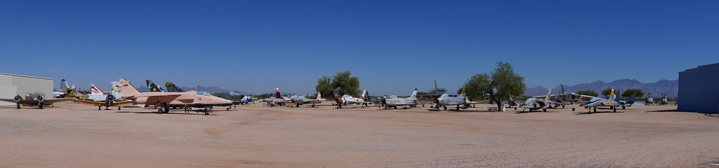 Panorama: Pima Air & Space Museum