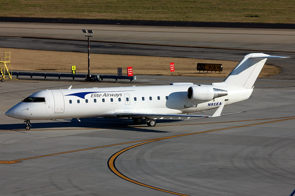 N91EA - Elite Airways Bombardier CRJ-200 | Bringing the ...