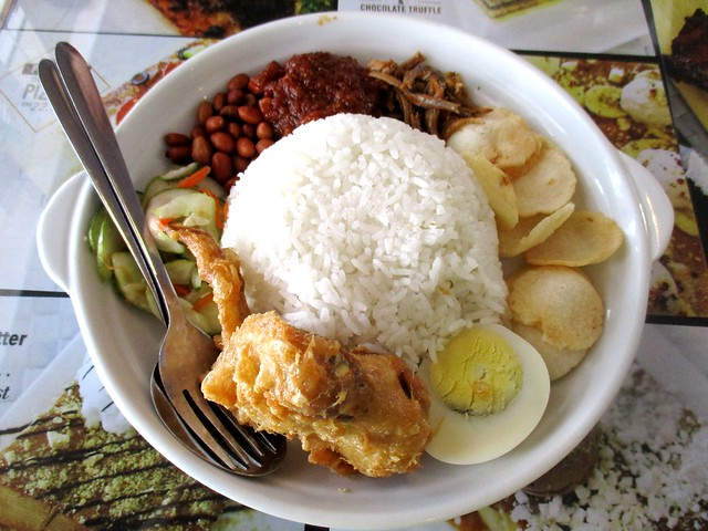 Noodle House nasi lemak, regular
