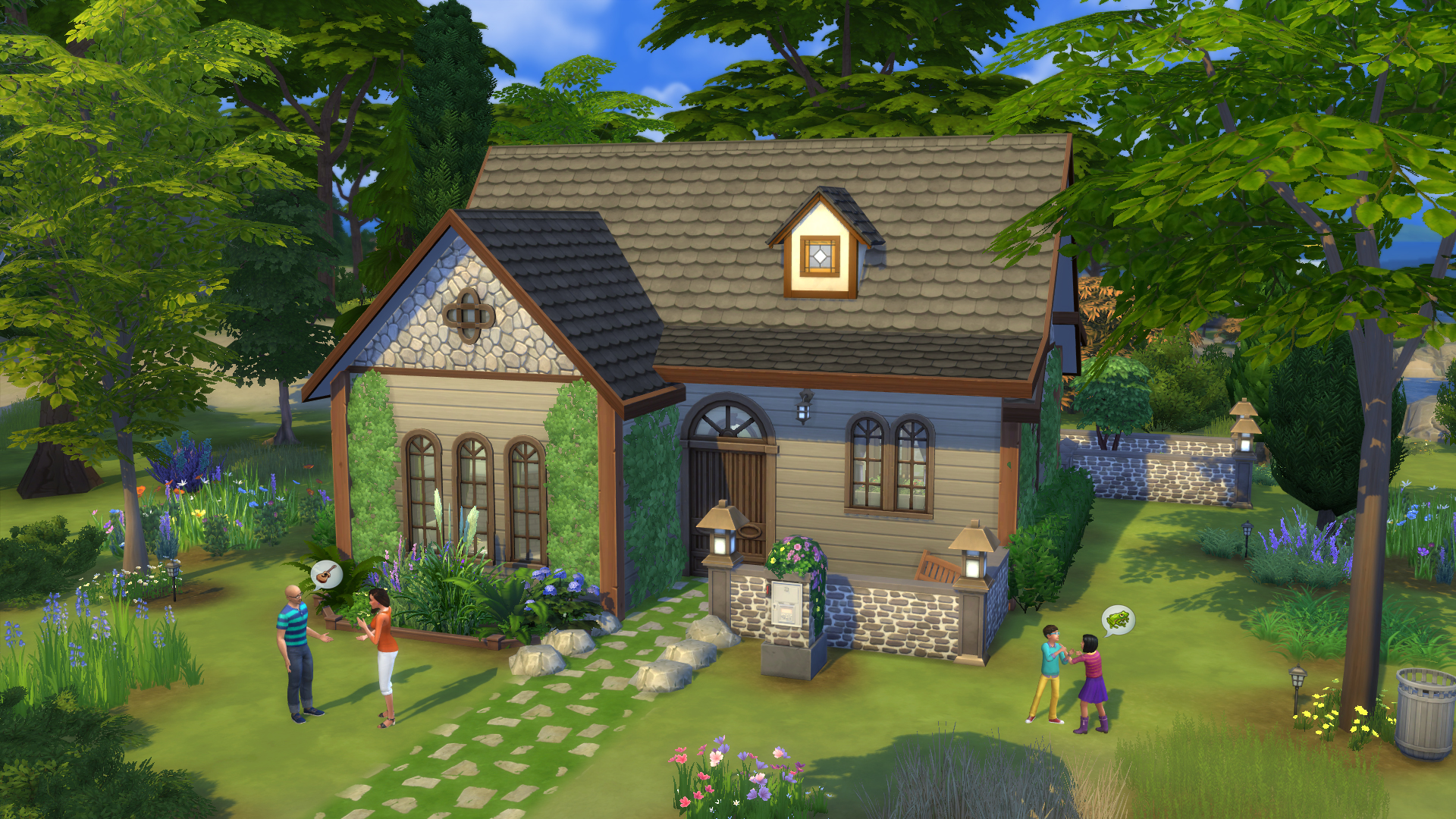 Community italiana dedicata a the sims 4 for Piani casa casa tudor
