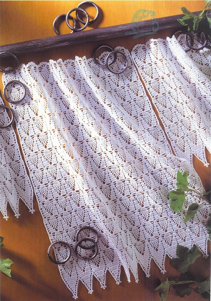 Des rideaux au crochet - Le monde-creatif