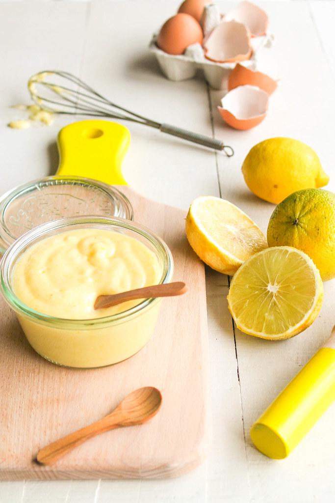 Bergamote curd {sans lait - sans gluten}
