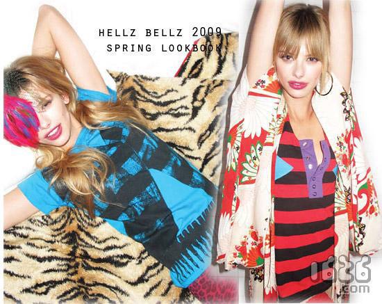 Girls spring color body