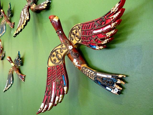 Islamic Nyonya Kafe, birds