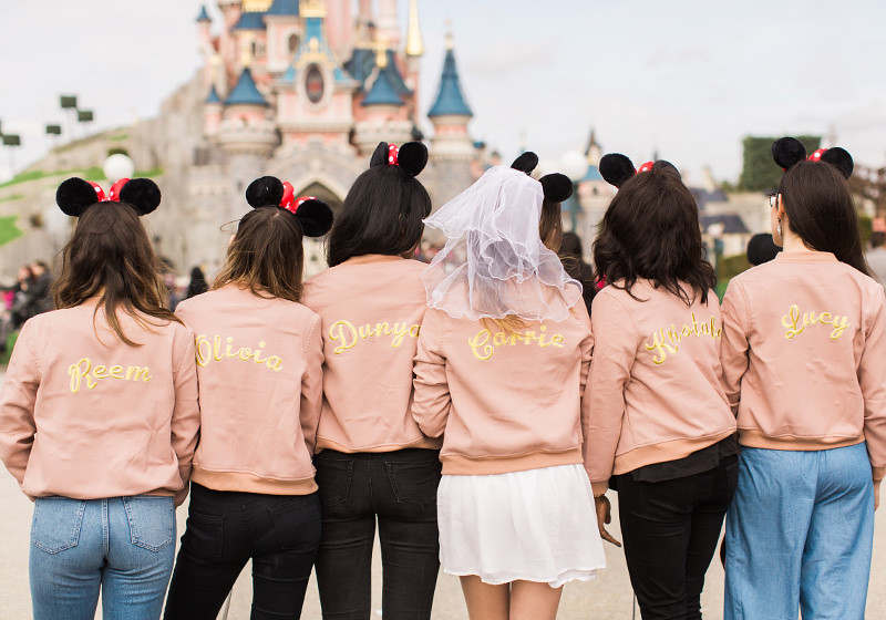 Personalised bomber jackets hen do