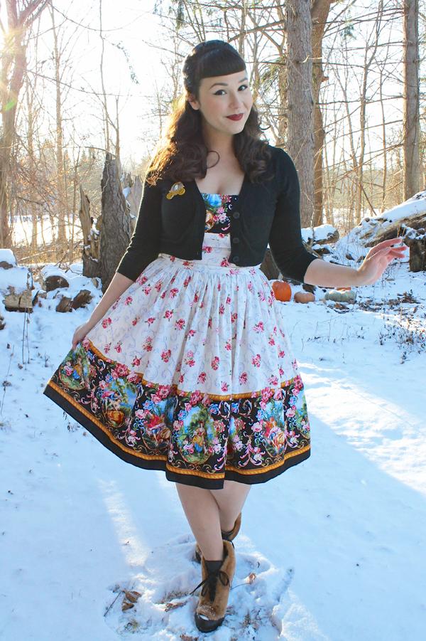 rococo dress