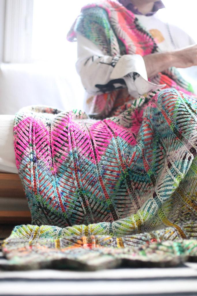 Briochevron Blanket 5