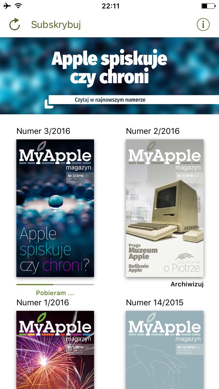 MyApple Magazyn