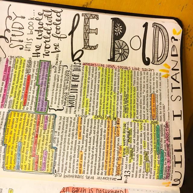 Online Bible Journaling Class Reminder
