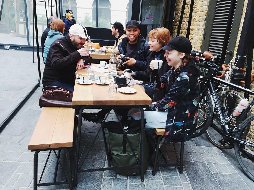 Coffee Cycle Saturday Rapha Cafe Bikes