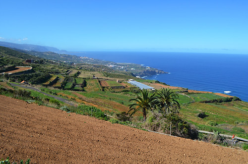 Views along the north coast, Barranco de Ruiz, Tenerife