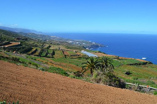 Views along the north coast, Barranco de Ruiz, Tenerife