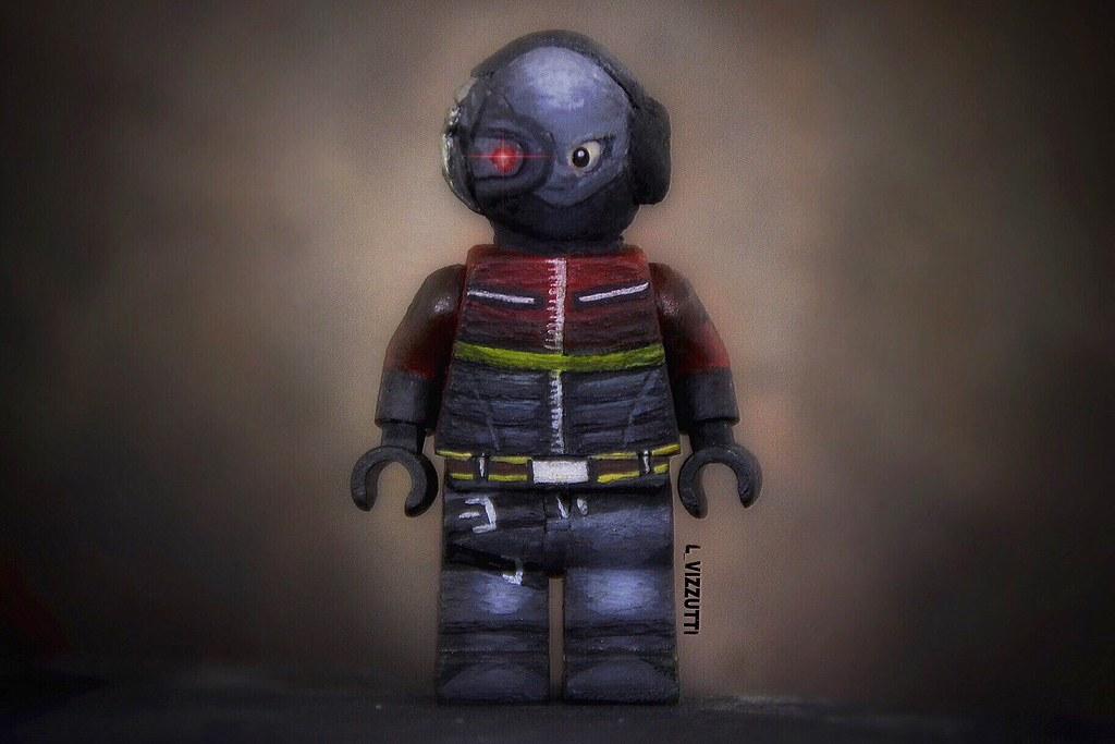 Lego Deadshot from Arkham Origins | Lego Custom | Leo ...