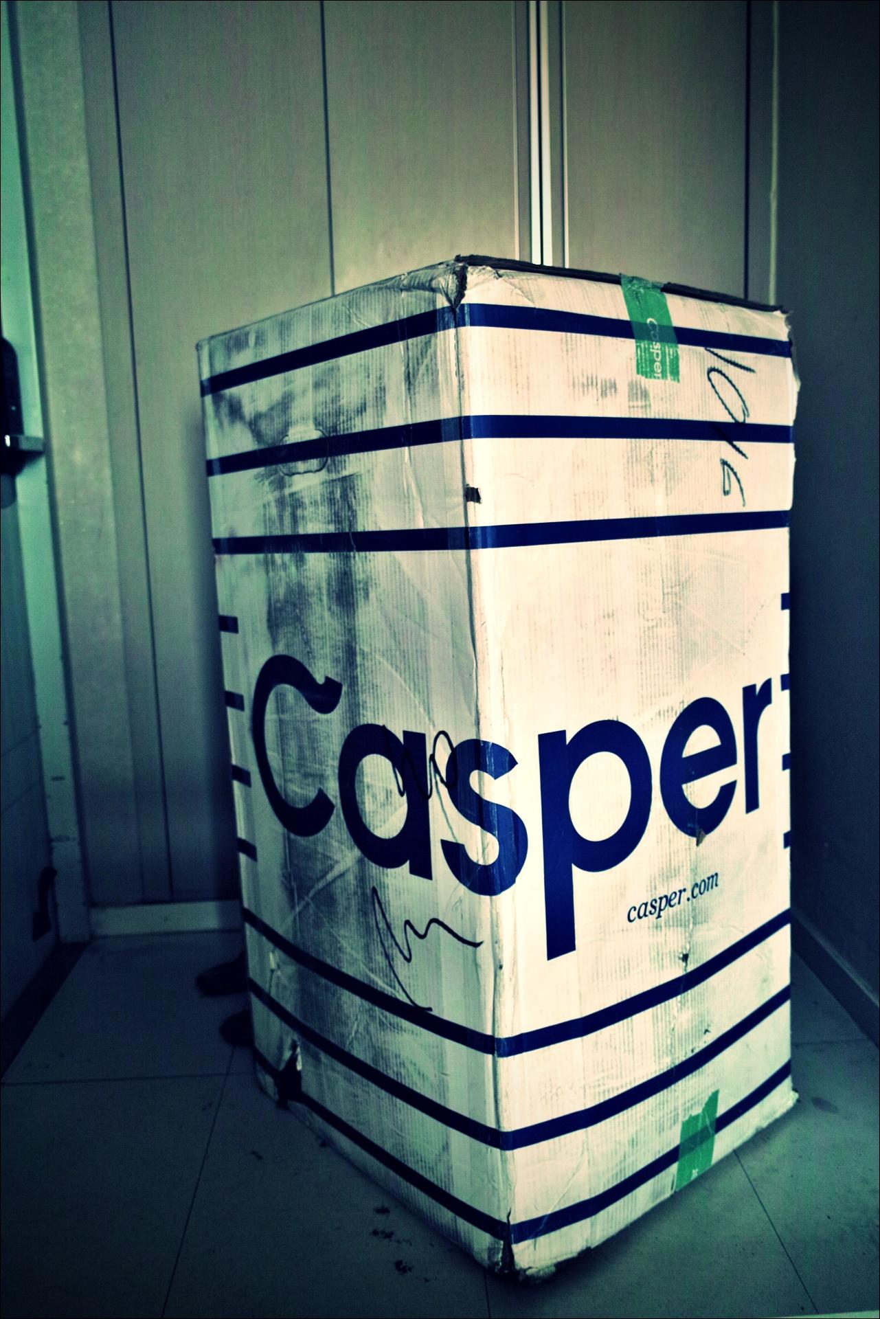 상자-'캐스퍼 메모리폼 매트리스 the casper mattress'