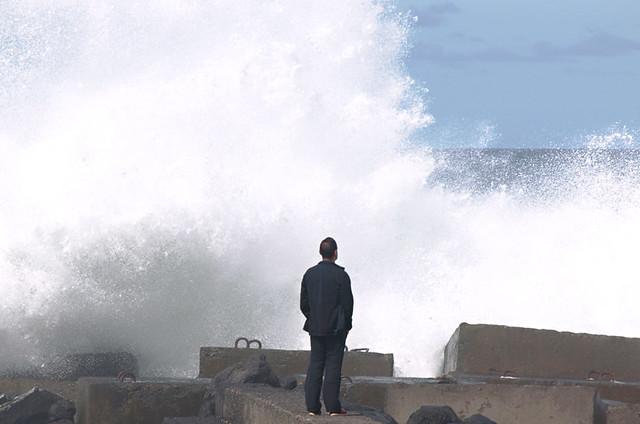 Wild seas, February, Tenerife