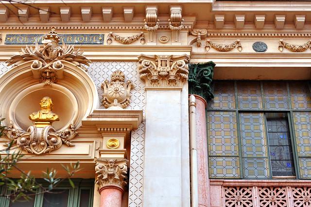 Nizza-Architektur: Fassaden, Fenster, Gebäudedetails, Farben ... Foto Brigitte Stolle Nizza März 2016