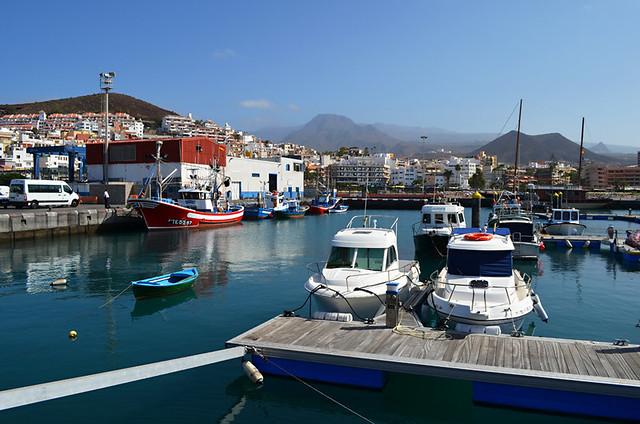 Harbour, Los Cristianos, Tenerife