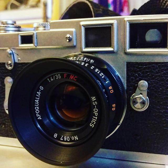 宮崎光學 35mm f1.4 APO 超小巧大光圈鏡頭