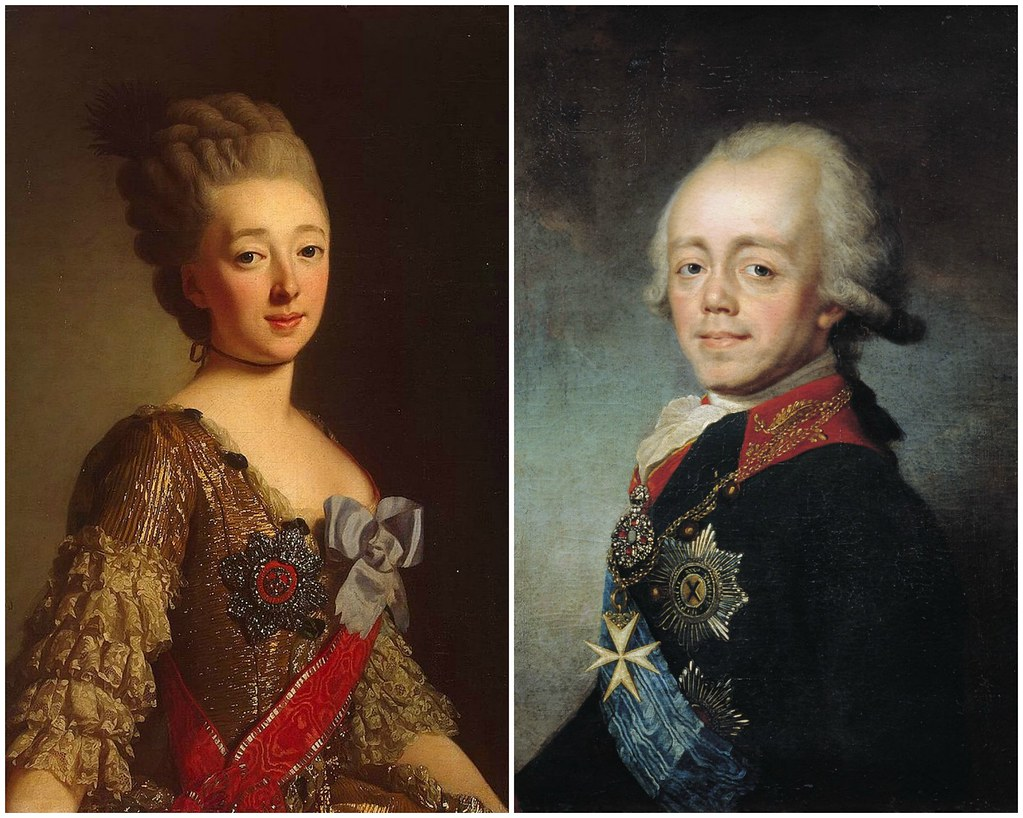 Wilhelmina Louisa of Hess-Darmstadt and Paul I of Russia