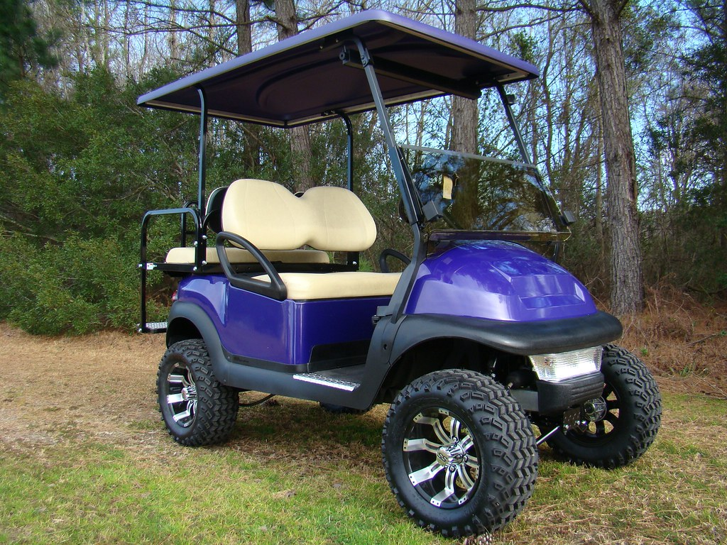 Tidewater custom golf carts from king of carts superstore for Narrow golf cart