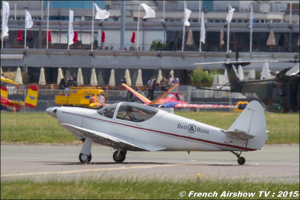 Globe Swift CG-1B N41P , PATROUILLE SWIFT TEAM 2015 , Bell & Ross, Paris Airshow 2015 , Salon du Bourget 2015 , 51 edition paris, Meeting Aerien 2015