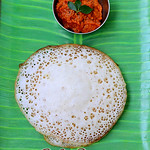 Puffed rice dosa