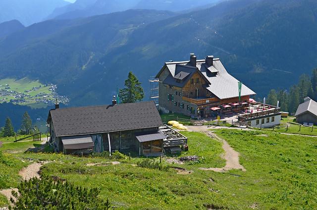 Mountain Hütte, Gosausee, Austria