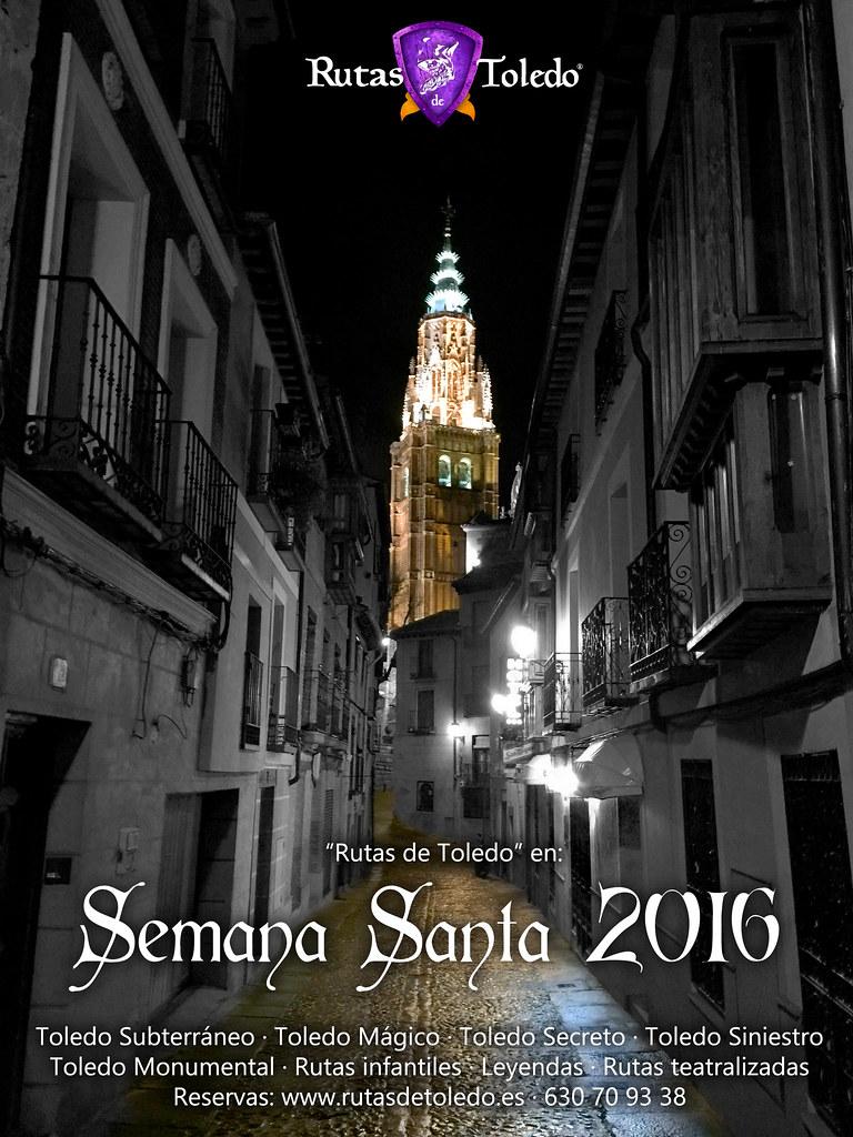 Rutas en Toledo por Semana Santa