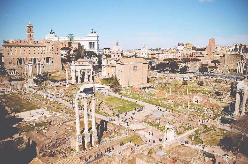 Forum Romanum, Rome | via It's Travel O'Clock